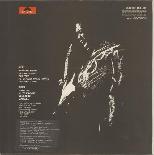 Jimi Hendrix War Heroes - Correction Stickered vinyl LP album (LP record) UK HENLPWA694754