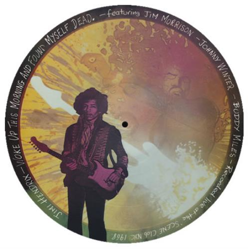 Jimi Hendrix Woke Up This Morning And Found Myself Dead picture disc LP (vinyl picture disc album) UK HENPDWO329073