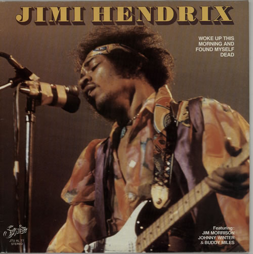Jimi Hendrix Woke Up This Morning And Found Myself Dead vinyl LP album (LP record) Belgian HENLPWO625331