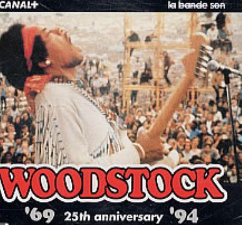 "Jimi Hendrix Woodstock 25th CD single (CD5 / 5"") French HENC5WO63009"