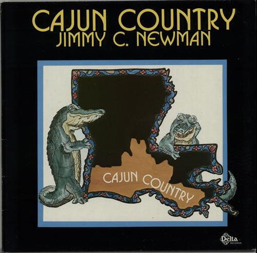 Jimmy C. Newman Cajun Country vinyl LP album (LP record) German JN0LPCA632644