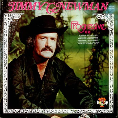 Jimmy C. Newman Progressive vinyl LP album (LP record) UK JN0LPPR523684