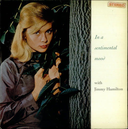 Jimmy Hamilton In A Sentimental Mood vinyl LP album (LP record) UK J6PLPIN541388