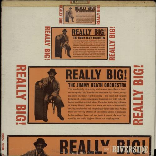 Jimmy Heath Really Big! vinyl LP album (LP record) UK JIELPRE599415