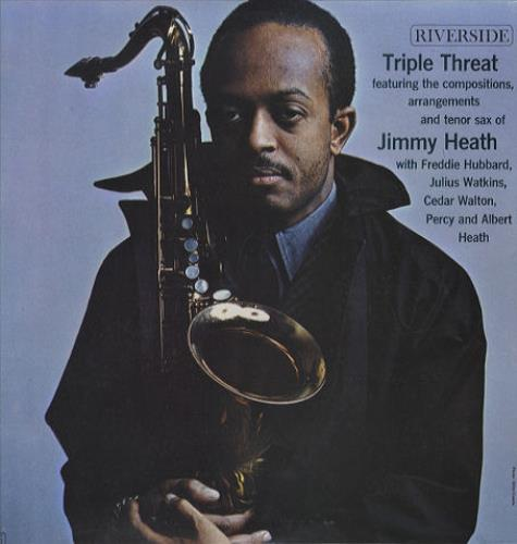 Jimmy Heath Triple Threat vinyl LP album (LP record) US JIELPTR443817