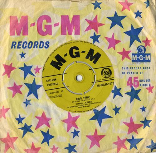 "Jimmy Jones (R&R) Good Timin' 7"" vinyl single (7 inch record) UK 8JJ07GO558131"