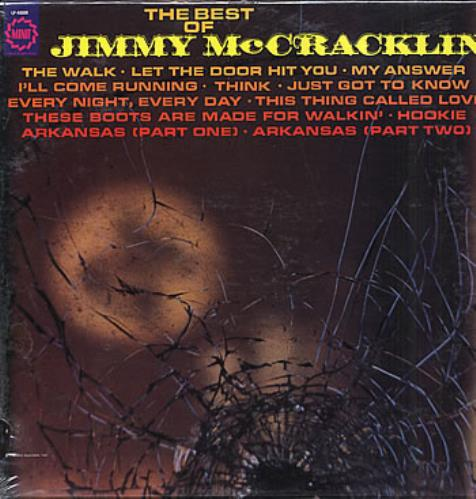 Jimmy McCracklin The Best Of Jimmy McCracklin - Sealed vinyl LP album (LP record) US JAULPTH291269