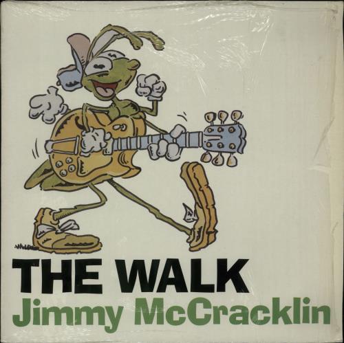 "Jimmy McCracklin The Walk 12"" vinyl single (12 inch record / Maxi-single) UK JAU12TH654956"