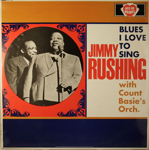 Jimmy Rushing Blues I Love To Sing vinyl LP album (LP record) UK JIGLPBL442891