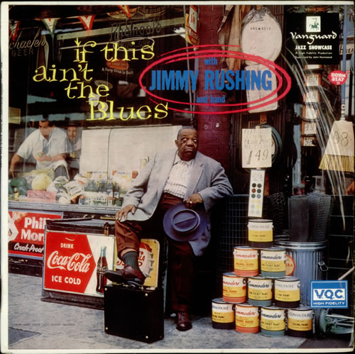 Jimmy Rushing If This Ain't The Blues vinyl LP album (LP record) UK JIGLPIF542797