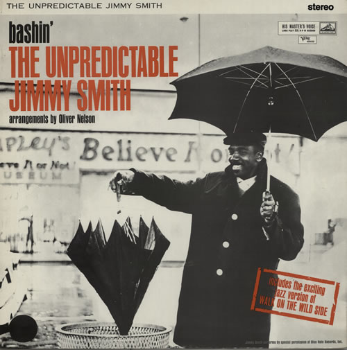 Jimmy Smith (Jazz Organ) Bashin' The Unpredictable vinyl LP album (LP record) UK IMYLPBA638239
