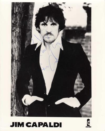 Jim Capaldi Signed Photograph photograph UK JCPPHSI740449