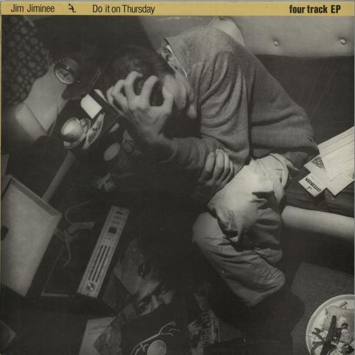 "Jim Jiminee Do It On Thursday EP 12"" vinyl single (12 inch record / Maxi-single) UK K8M12DO645154"