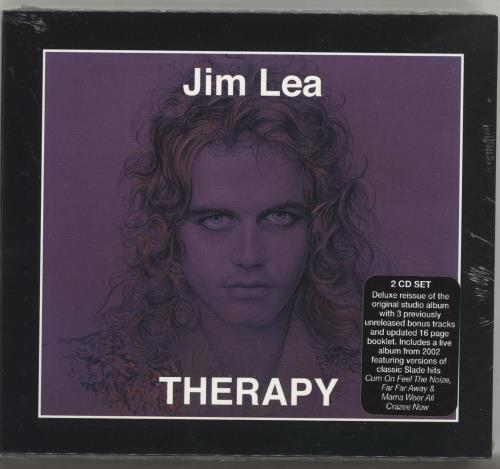 Jim Lea Therapy - Deluxe Edition - Sealed 2 CD album set (Double CD) UK QZM2CTH703749