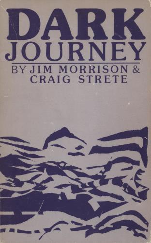 Jim Morrison Dark Journey book Dutch RRJBKDA555689