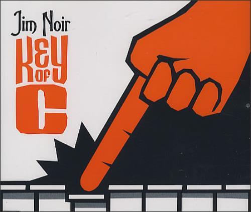 "Jim Noir Key Of C CD single (CD5 / 5"") UK JE3C5KE371487"