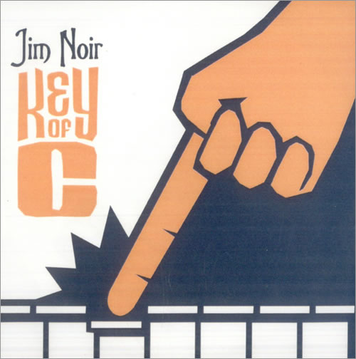 Jim Noir Key Of C CD-R acetate UK JE3CRKE516864