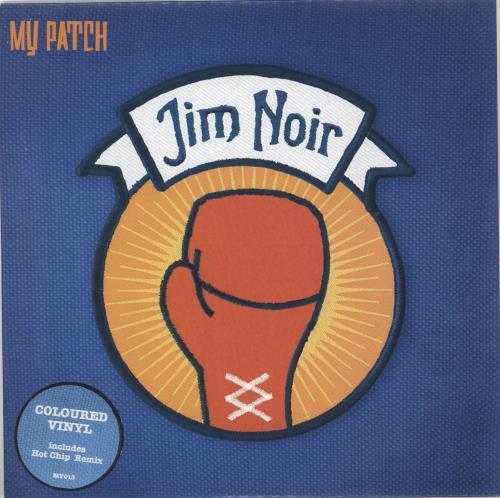 "Jim Noir My Patch - Orange Vinyl 7"" vinyl single (7 inch record) UK JE307MY716333"