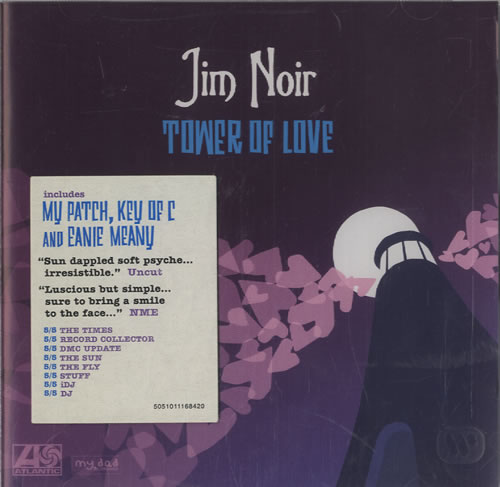 Jim Noir Tower Of Love CD album (CDLP) UK JE3CDTO470499