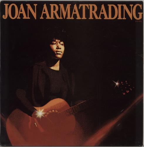 Joan Armatrading Joan Armatrading vinyl LP album (LP record) French ARMLPJO758769