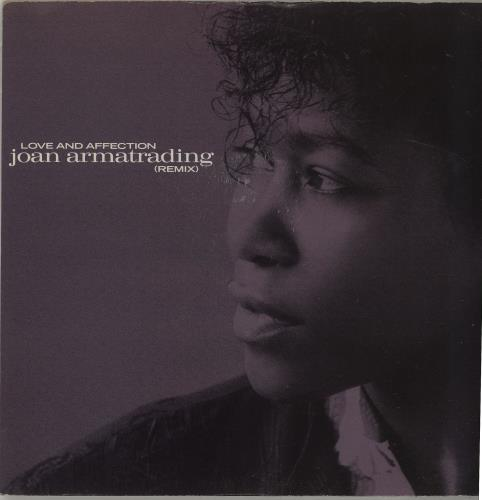 """Joan Armatrading Love And Affection (Remix) 7"""" vinyl single (7 inch record) UK ARM07LO685643"""