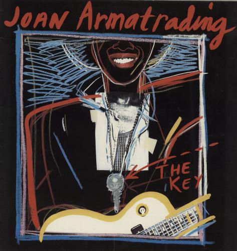 Joan Armatrading The Key tour programme UK ARMTRTH760985