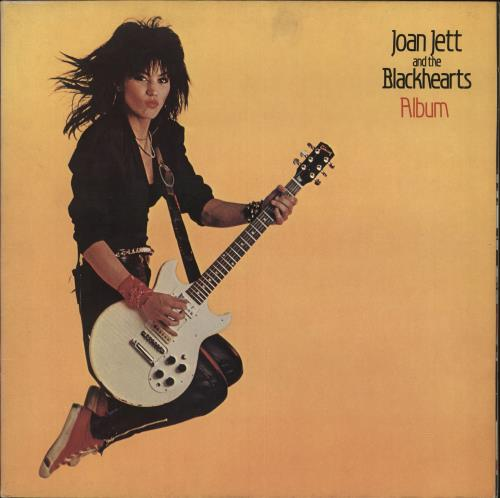 Joan Jett Album vinyl LP album (LP record) UK JETLPAL666824