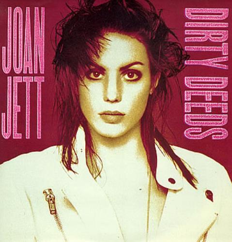 "Joan Jett Dirty Deeds 12"" vinyl single (12 inch record / Maxi-single) UK JET12DI131455"