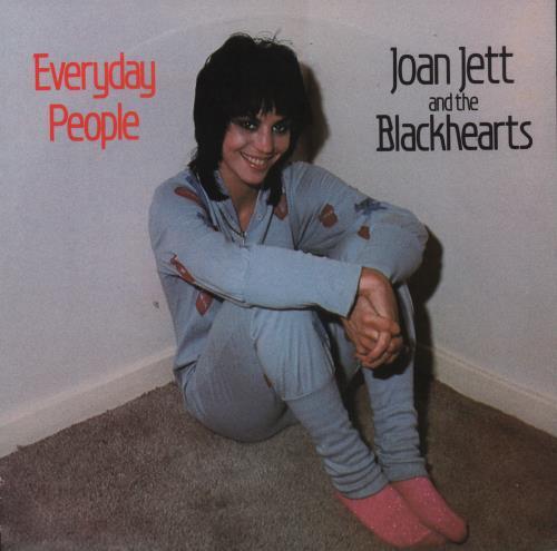 "Joan Jett Everyday People 7"" vinyl single (7 inch record) Dutch JET07EV666395"