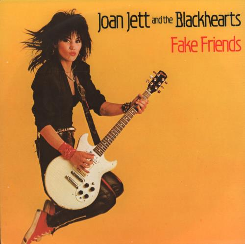 "Joan Jett Fake Friends 7"" vinyl single (7 inch record) Dutch JET07FA666396"