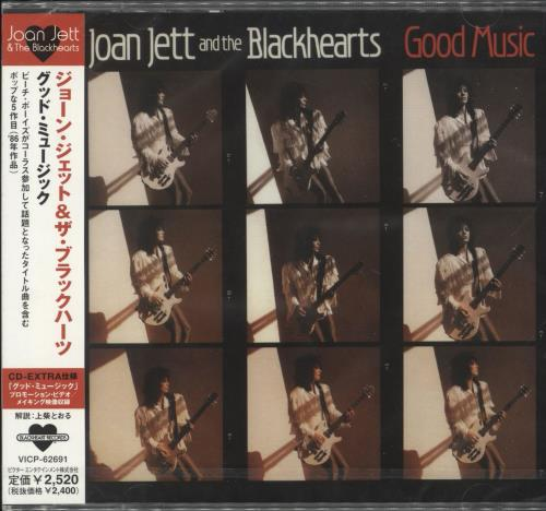 Joan Jett Good Music CD album (CDLP) Japanese JETCDGO710950
