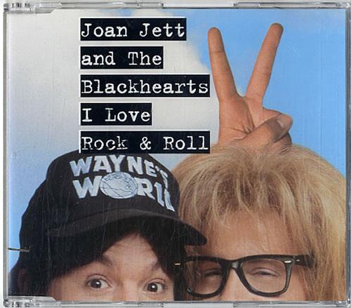 """Joan Jett I Love Rock & Roll CD single (CD5 / 5"""") German JETC5IL84277"""