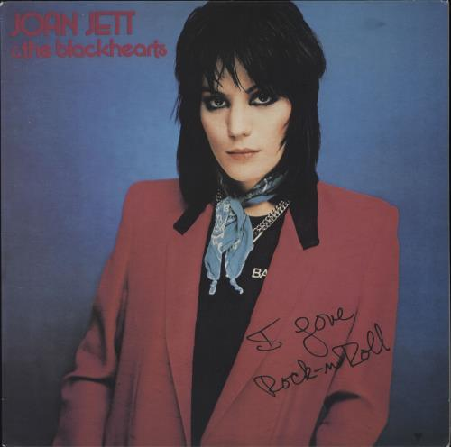 Joan Jett I Love Rock N Roll - 180gm - Clear vinyl LP album (LP record) US JETLPIL544551