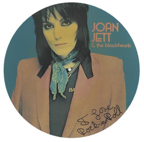 Joan Jett I Love Rock 'n Roll picture disc LP (vinyl picture disc album) UK JETPDIL131096