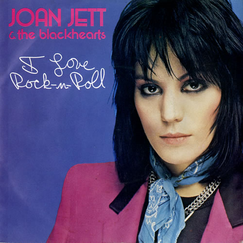 "Joan Jett I Love Rock 'n Roll 7"" vinyl single (7 inch record) UK JET07IL506288"