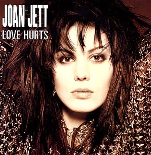 "Joan Jett Love Hurts 12"" vinyl single (12 inch record / Maxi-single) UK JET12LO285170"