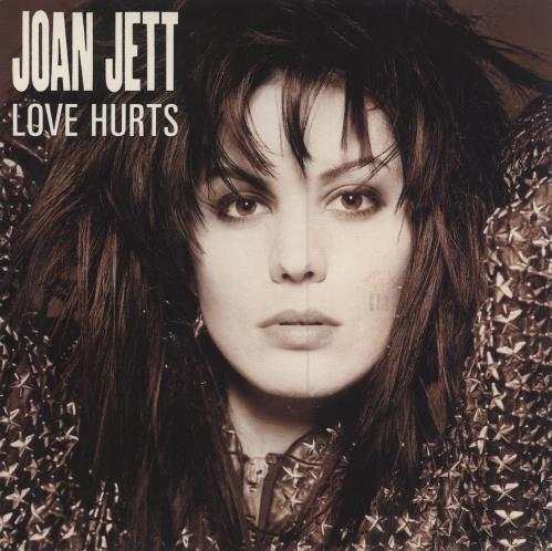 "Joan Jett Love Hurts 7"" vinyl single (7 inch record) UK JET07LO289413"