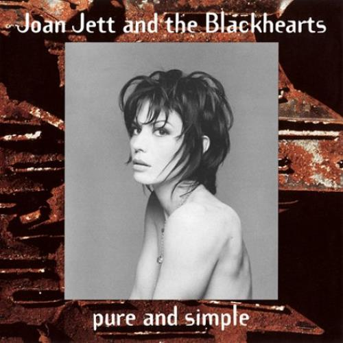 Joan Jett Pure And Simple CD album (CDLP) UK JETCDPU454314