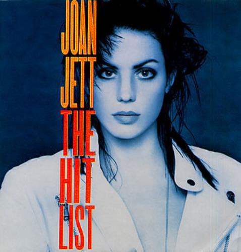 Joan Jett The Hit List vinyl LP album (LP record) UK JETLPTH254446