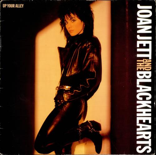 Joan Jett Up Your Alley vinyl LP album (LP record) UK JETLPUP277500