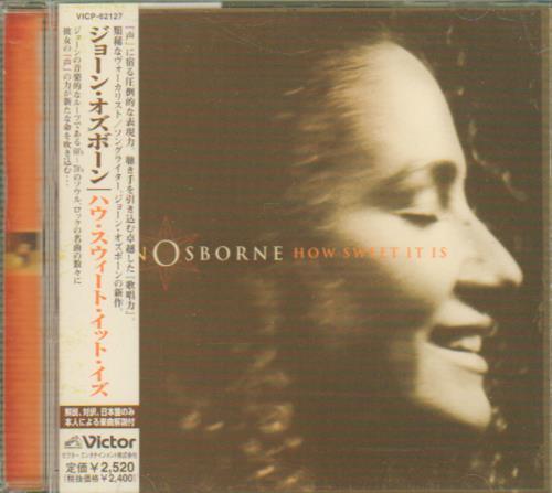 Joan Osborne How Sweet It Is CD album (CDLP) Japanese J-OCDHO642988