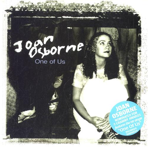"Joan Osborne One Of Us CD single (CD5 / 5"") Australian J-OC5ON595725"
