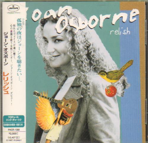 Joan Osborne Relish CD album (CDLP) Japanese J-OCDRE643234