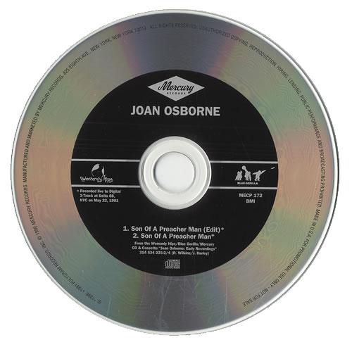 "Joan Osborne Sone Of A Preacher Man CD single (CD5 / 5"") US J-OC5SO82142"