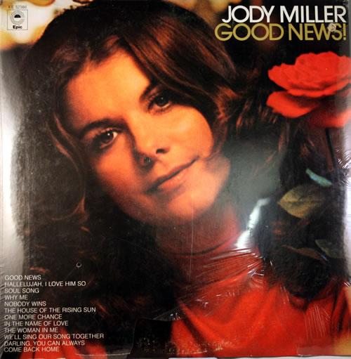 Jody Miller Good News! - Sealed vinyl LP album (LP record) US J0DLPGO560555