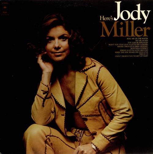 Jody Miller Here's Jody vinyl LP album (LP record) UK J0DLPHE497414