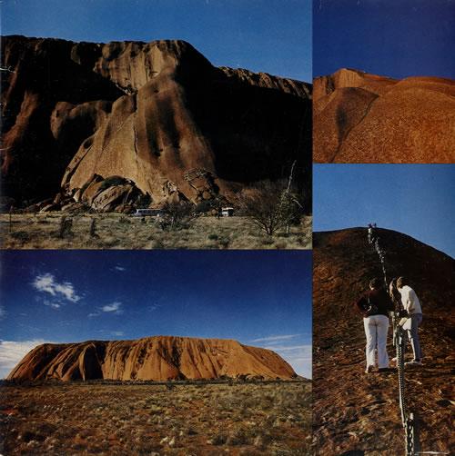 "Joel Smoker Ballad Of Uluru - Autographed 7"" vinyl single (7 inch record) Australian J8E07BA551278"