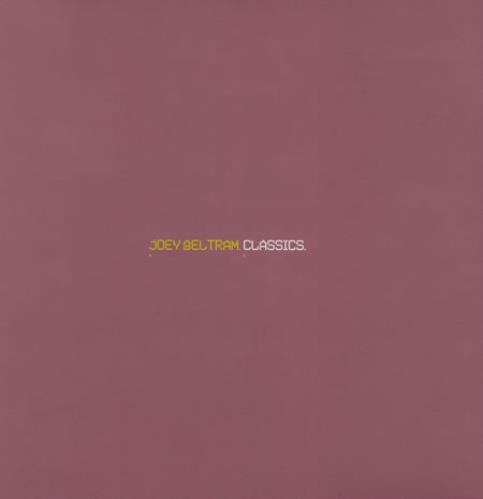 Joey Beltram Classics 2-LP vinyl record set (Double Album) UK JBL2LCL401441
