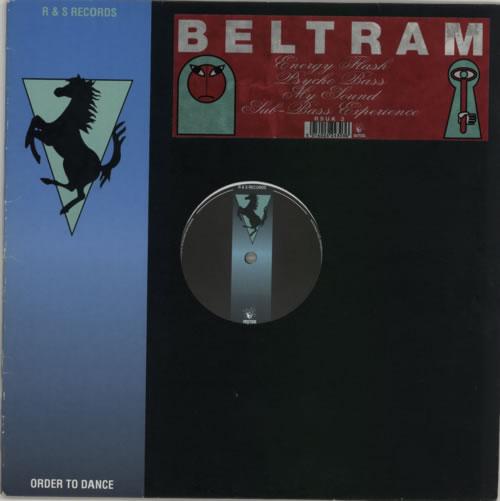 """Joey Beltram Energy Flash EP 12"""" vinyl single (12 inch record / Maxi-single) UK JBL12EN196020"""