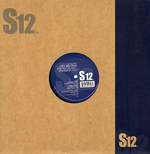 """Joey Beltram Energy Flash 12"""" vinyl single (12 inch record / Maxi-single) UK JBL12EN281793"""